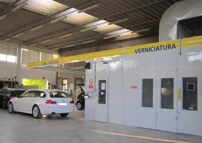 interno carrozzeria RTC vigonza