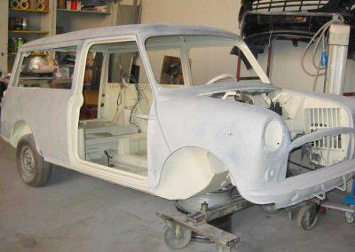 restauro auto d'epoca a vigonza